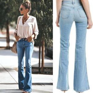 👖J Brand Patch Pocket Flare Jeans - NWT 28